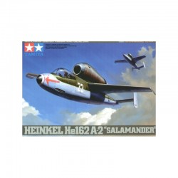 Tamiya Heinkel He 162 A2 Salamander Assembly Kit Scale - 1/48Th