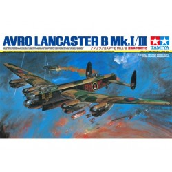 Tamiya Lancaster B Mki / Iii With Painted Canopy Assembly Kit Scale - 1/48Th