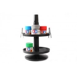 Bottled Paint Stand - W/4 Alligator Clips