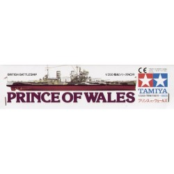 Hms Prince Of Wales Assembly Kit Scale - 1/350Th