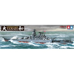 Yamato Battleship Assembly Kit Scale - 1/350Th