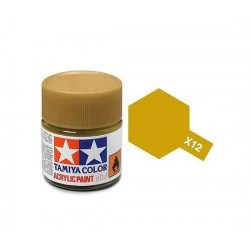 Acrylic Mini X-12 Gold Leaf Tamiya - 10Ml