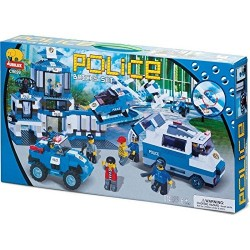 Police Building Block Large Set