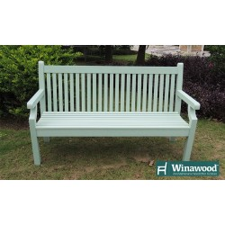 Winawood Bench - 2 Seater Winawood Duck Egg Green Colour.