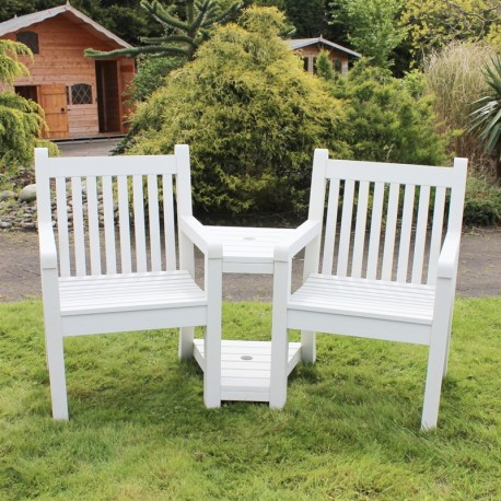 Winawood Love Seat/ Winawood White Colour