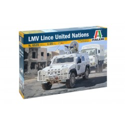 LMV LINCE UNITED NATIONS 1:35 Scale