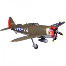 FMS 980MM P-47 RAZORBACK ARTF W/O TX/RX/BATT HIGH SPEED