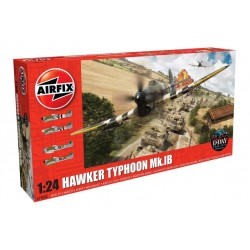 Hawker Typhoon Mk1B (Late) 1/24 Dis Kit Airfix A19002