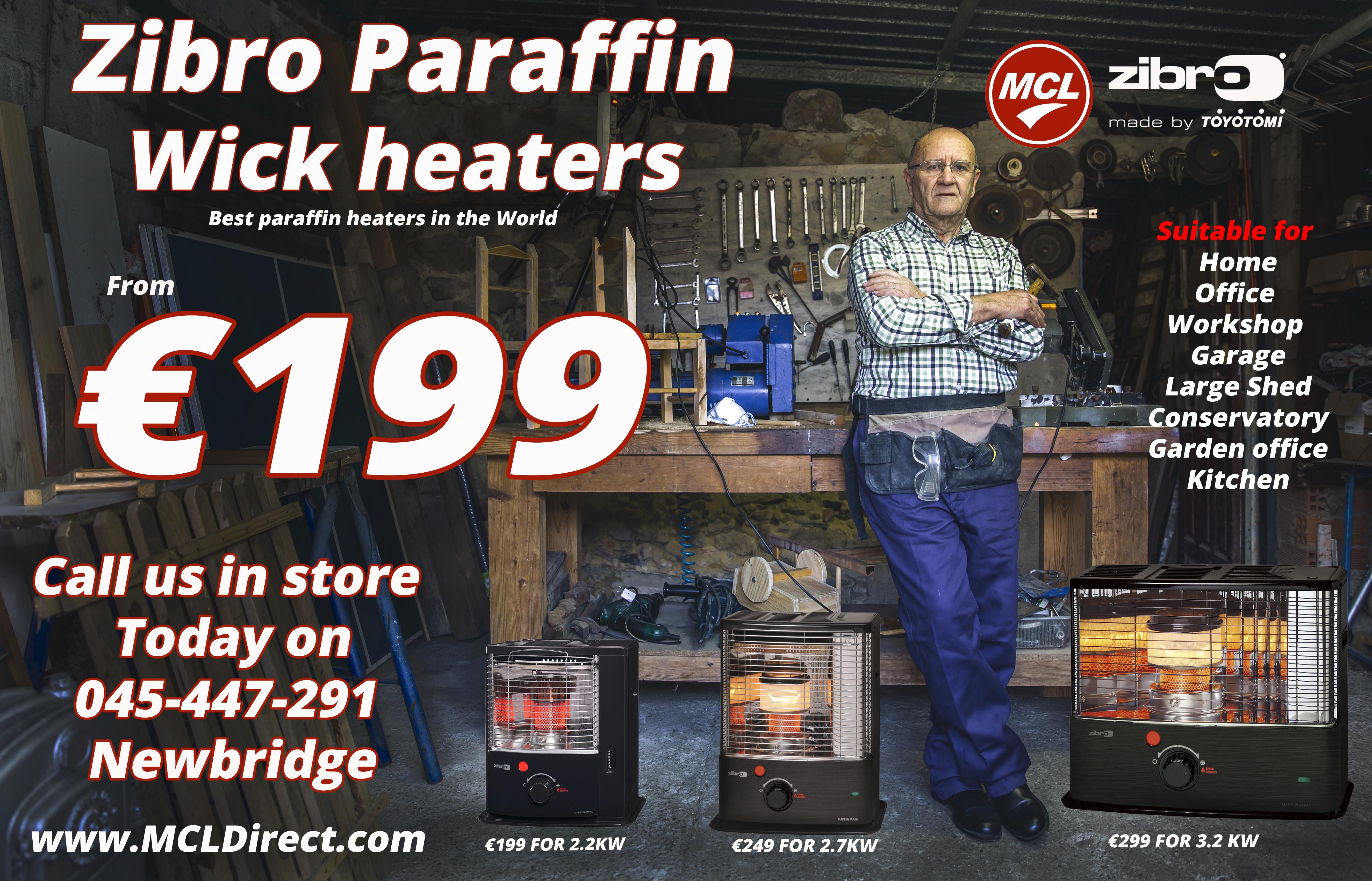 best paraffin heaters in the world
