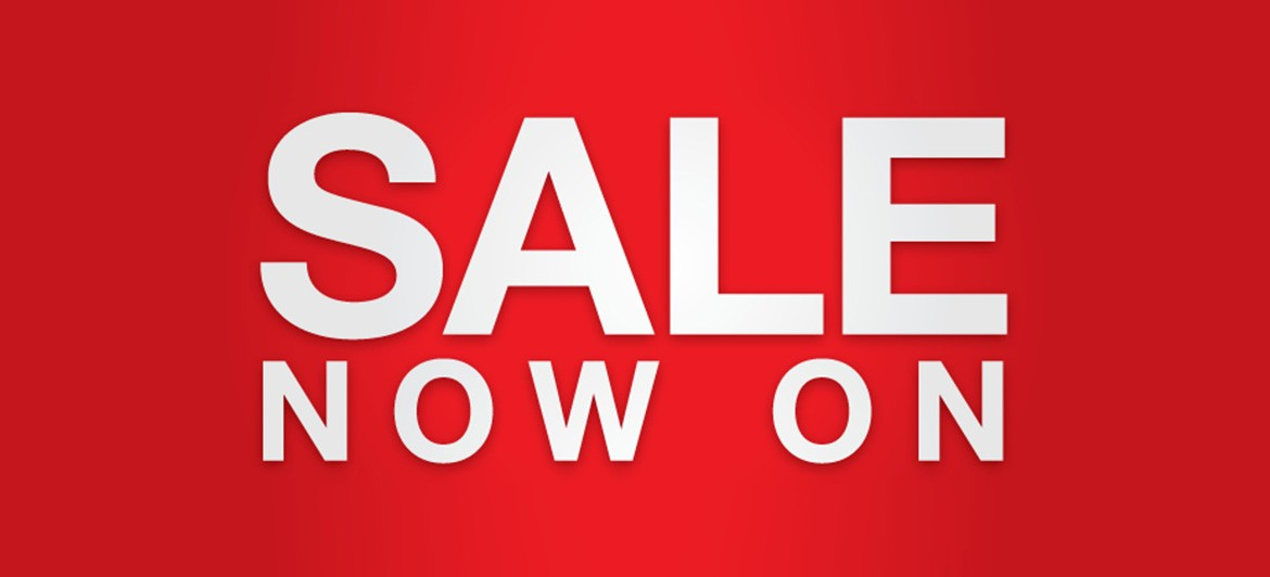 New year Sale now on Today